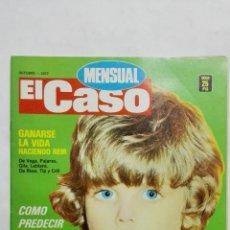 Coleccionismo de Revistas y Periódicos: REVISTA MENSUAL EL CASO, OCTUBRE 1977, GANARSE LA VIDA HACIENDO REIR. Lote 171690525