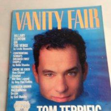 Coleccionismo de Revistas y Periódicos: VANITY FAIR MAGAZINE JUNE 1994 TOM HANKS. Lote 171698069