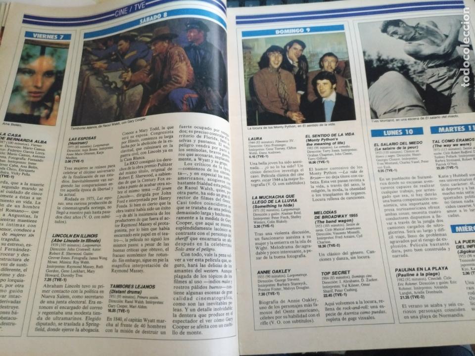 Coleccionismo de Revistas y Periódicos: tp tele pais telepais 1989 revista suplemento napoleon josefina ana belen lola flores superman - Foto 3 - 171703412