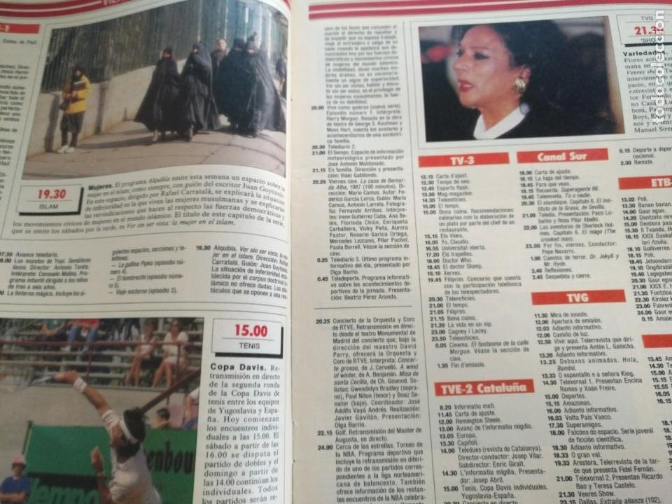 Coleccionismo de Revistas y Periódicos: tp tele pais telepais 1989 revista suplemento napoleon josefina ana belen lola flores superman - Foto 4 - 171703412