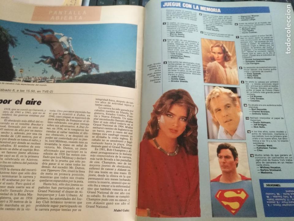 Coleccionismo de Revistas y Periódicos: tp tele pais telepais 1989 revista suplemento napoleon josefina ana belen lola flores superman - Foto 5 - 171703412