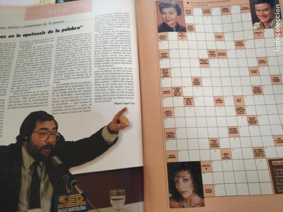 Coleccionismo de Revistas y Periódicos: tp tele pais telepais 1989 revista suplemento rosa maria mateo ana belen , metropolis ... - Foto 3 - 171703852