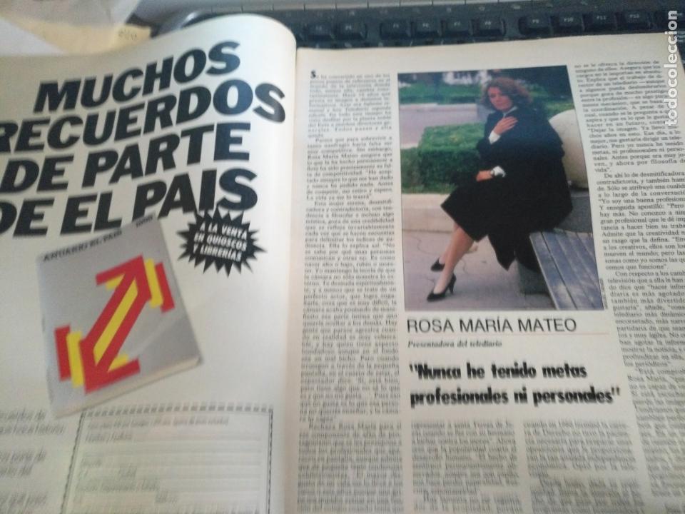 Coleccionismo de Revistas y Periódicos: tp tele pais telepais 1989 revista suplemento rosa maria mateo ana belen , metropolis ... - Foto 4 - 171703852