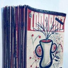Coleccionismo de Revistas y Periódicos: LA CODORNIZ / 125 EJEMPLARES DIFERENTES ( AÑOS 1952 - 1955 ) BUEN ESTADO / 6,5 KILOS. Lote 171703914