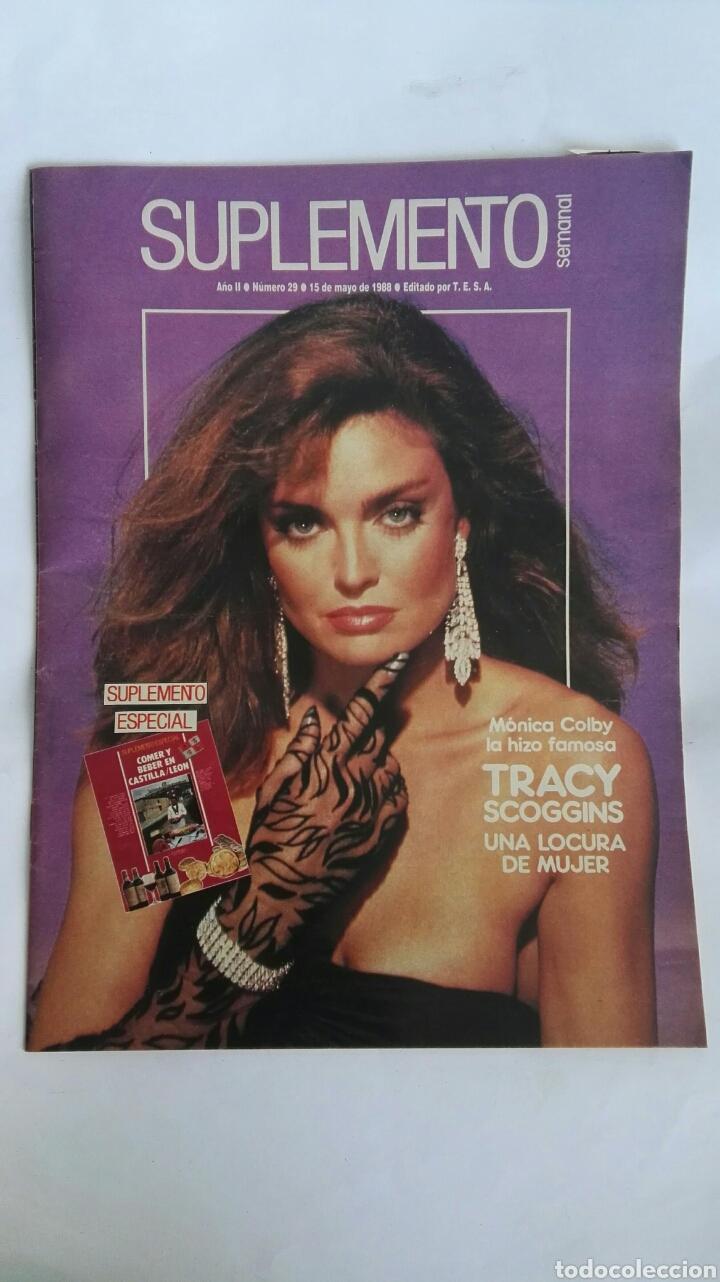 SUPLEMENTO SEMANAL MAYO 1988 TRACY SCOGGINS (Coleccionismo - Revistas y Periódicos Modernos (a partir de 1.940) - Otros)
