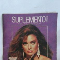 Coleccionismo de Revistas y Periódicos: SUPLEMENTO SEMANAL MAYO 1988 TRACY SCOGGINS. Lote 171718637