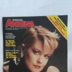 Coleccionismo de Revistas y Periódicos: ANTENA SEMANAL SEPTIEMBRE 1987 MELANIE GRIFFITH. Lote 171718663