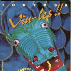 Coleccionismo de Revistas y Periódicos: TORTOSA FESTES DE LA CINTA 1995. Lote 171719665