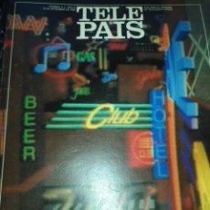 Coleccionismo de Revistas y Periódicos: TP TELE PAIS TELEPAIS 1990 REVISTA SUPLEMENTO TV IMAGENES INVENTADAS CAMARON GUERRA DE LAS GALAXIAS. Lote 171761149