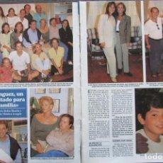 Coleccionismo de Revistas y Periódicos: RECORTE REVISTA SEMANA Nº 3007 1997 MEDICO DE FALILIA, LYDIA BOSCH, EMILIO ARAGON, BELEN RUEDA 3 PGS. Lote 171767185