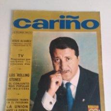Coleccionismo de Revistas y Periódicos: REVISTA CARIÑO 1966 REPOR ROLLING STONES. Lote 171842023