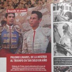 Coleccionismo de Revistas y Periódicos: PALOMO LINARES. Lote 171984197