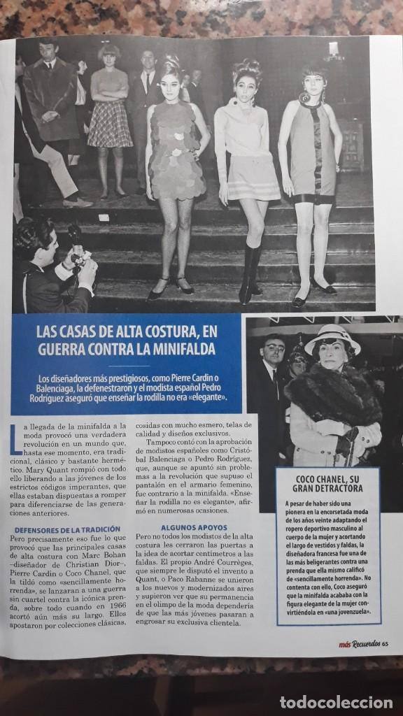 COCO CHANEL LAS MINIFALDAS (Coleccionismo - Revistas y Periódicos Modernos (a partir de 1.940) - Otros)