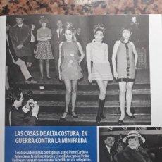 Coleccionismo de Revistas y Periódicos: COCO CHANEL LAS MINIFALDAS. Lote 171986974