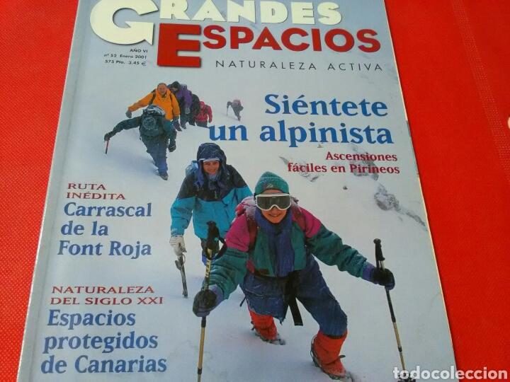 REVISTA GRANDES ESPACIOS .NATURALEZA ACTIVA ,N° 52 . ENERO 2001 - 88 PP (Coleccionismo - Revistas y Periódicos Modernos (a partir de 1.940) - Otros)