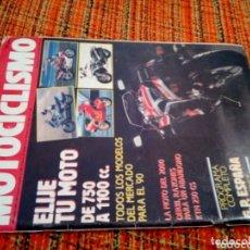 Coleccionismo de Revistas y Periódicos: REVISTA MOTOCICLISMO 1990. Lote 172165373