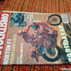 Coleccionismo de Revistas y Periódicos: REVISTA MOTOCICLISMO 1990. Lote 172167930