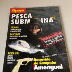 Coleccionismo de Revistas y Periódicos: APNEA PESCA SUBMARINA - RECORRIDO DE CAMPEÓN. Lote 172186000