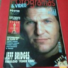 Coleccionismo de Revistas y Periódicos: FOTOGRAMAS & VIDEO 1783 MARZO 1992 / 146 PP. Lote 172222018