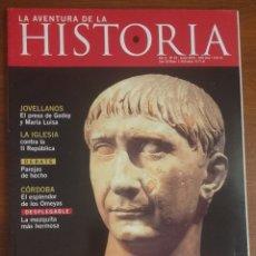 Coleccionismo de Revistas y Periódicos: LA AVENTURA DE LA HISTORIA. Nº 32. JUNIO 2001. Lote 172250220
