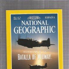 Coleccionismo de Revistas y Periódicos: NATIONAL GEOGRAPHIC 4 AÑO 1999. Lote 172272042
