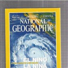 Coleccionismo de Revistas y Periódicos: NATIONAL GEOGRAPHIC 3 AÑO 1999. Lote 172272173