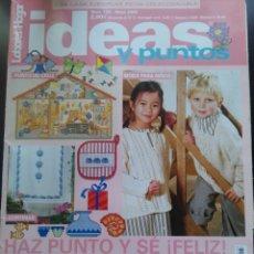 Coleccionismo de Revistas y Periódicos: IDEAS Y PUNTOS ,LABORES DEL HOGAR MAYO 2006 NÚMERO 133 MODA PARA NIÑOS PUNTO DE CRUZ GANCHILLO. Lote 172273178