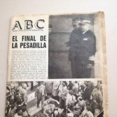 Coleccionismo de Revistas y Periódicos: PERIÓDICO ABC DEL 25 DE FEBRERO DE 1981.. Lote 172288668