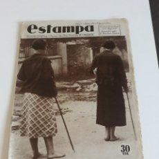 Coleccionismo de Revistas y Periódicos: ESTAMPA Nº 339 - 7 DE JULIO DE 1934 - SEGOVIA SAN ANTONIO DE LOS JUARANILLO EDUARDO MARQUINA. Lote 172604553