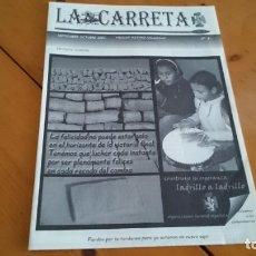 Coleccionismo de Revistas y Periódicos: BOLETÍN REVISTA LA CARRETA OJE MADRID N 4 - 2003 ORGANIZACIÓN JUVENIL ESPAÑOLA . Lote 172652102