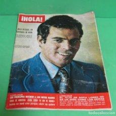 Coleccionismo de Revistas y Periódicos: HOLA Nº 1377 LOS BEATLES (1 PAGINA 3 FOTOS) JULIO IGLESIAS - ROSE KENNEDY - AUDREY HEPBURN - 1971. Lote 172663009