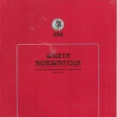 Coleccionismo de Revistas y Periódicos: ANE GACETA NUMISMATICA 174/175. Lote 172665234