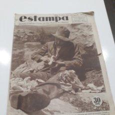 Coleccionismo de Revistas y Periódicos: REVISTA ESTAMPA Nº 346 - 25 AGOSTO DE 1934 - LAS MUJERES DE CATALUÑA , MISMOS DERECHOS QUE HOMBRES. Lote 172669969