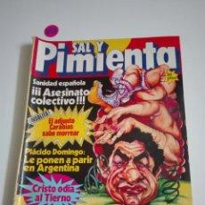 Coleccionismo de Revistas y Periódicos: SAL Y PIMIENTA N°100. AGOSTO 1981.. Lote 172714908