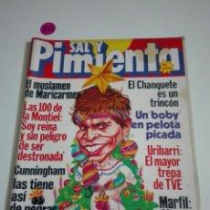 Coleccionismo de Revistas y Periódicos: SAL Y PIMIENTA N°117. DICIEMBRE 1981.. Lote 172782365