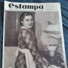 Coleccionismo de Revistas y Periódicos: ESTAMPA Nº 376 - 30 MARZO DE 1935 - MISS ARAGON ZARAGOZA CERA SORDOMUDOS RETIRO MADRID LEON UTIEL . Lote 172802445