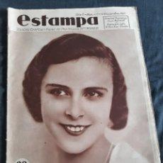 Coleccionismo de Revistas y Periódicos: ESTAMPA Nº 413 - 14 DICIEMBRE 1935 - LA BARCELONETA - VALLE DE LA SERENA (BADAJOZ) - VIANA (NAVARRA). Lote 172819059