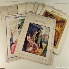 Coleccionismo de Revistas y Periódicos: BELLA-TERRA. LOTE DE 9 REVISTAS. VARIOS AUTORES. BARCELONA. 1925/1927.. Lote 172828557