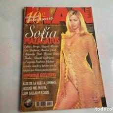 Coleccionismo de Revistas y Periódicos: MAN Nº 121 NOVIEMBRE 1997, SOFIA MAZAGATOS, ESTHER ARROYO, LORENA RENDUELES, THALIA, YVONNE REY. Lote 172838010