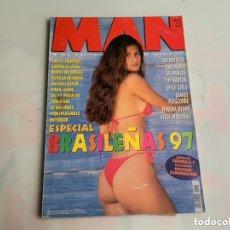Coleccionismo de Revistas y Periódicos: MAN Nº 113, ESPECIAL BRASILEÑAS-97, WINONA RYDER, TIM BURTON,. Lote 172840538