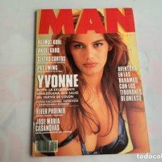 Coleccionismo de Revistas y Periódicos: MAN Nº 61 AÑO 1992 , CATHY MCNEW, CELTAS CORTOS, ELSA ANKA, YVONNE REYES. Lote 248688505