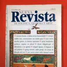 Coleccionismo de Revistas y Periódicos: NUEVA REVISTA DE POLITICA, CULTURA Y ARTE - Nº 55 FEBRERO 1998. Lote 172855547
