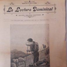 Coleccionismo de Revistas y Periódicos: REVISTA LA LECTURA DOMINICAL.. Lote 172883424