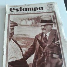 Coleccionismo de Revistas y Periódicos: ESTAMPA Nº 303 - 28 OCTUBRE 1933 - EN PORTADA LERROUX, ROMANONES,... OPINAN SOBRE LAS ELECCIONES. Lote 172936993