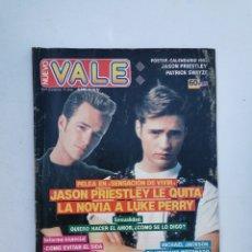 Coleccionismo de Revistas y Periódicos: NUEVO VALE N° 645 - 14/12/1991 - JASON PRIESTLEY - LUKE PERRY - PATRICK SWAYZE. Lote 172981293