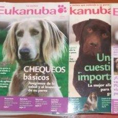 Coleccionismo de Revistas y Periódicos: REVISTA EUKANUBA - PARA PERROS - LOTE 4 REVISTAS. Lote 172983772