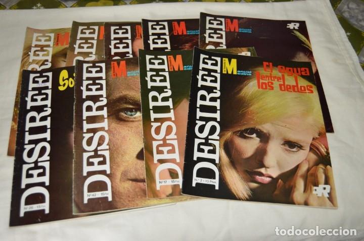 LOTE 9 REVISTAS FOTONOVELAS - DESIRÉE - NÚMEROS, 01, 02, 09, 17, 22, 26 ... MUY BUEN ESTADO - ¡MIRA! (Coleccionismo - Revistas y Periódicos Modernos (a partir de 1.940) - Otros)