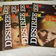 Coleccionismo de Revistas y Periódicos: LOTE 9 REVISTAS FOTONOVELAS - DESIRÉE - NÚMEROS, 01, 02, 09, 17, 22, 26 ... MUY BUEN ESTADO - ¡MIRA!. Lote 172987259