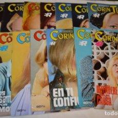 Coleccionismo de Revistas y Periódicos: LOTE 15 REVISTAS FOTONOVELAS - CORÍN TELLADO - INCLUYE UN EXTRA - MUY BUEN ESTADO - ¡MIRA!. Lote 172992617