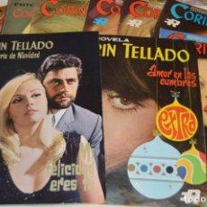 Coleccionismo de Revistas y Periódicos: LOTE 9 REVISTAS - CORIN TELLADO - INCLUYE 2 EXTRAORDINARIO NAVIDAD - AÑOS 60 / 70 ¡MUY BUEN ESTADO!. Lote 172994558